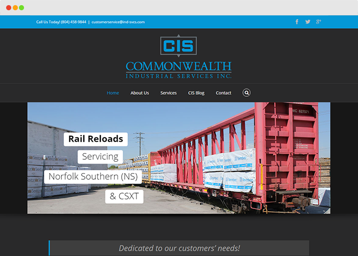Commonwealth Industrial Services Inc.